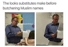 yeah. a sub pronounced my last name 'gucci' if you can believe it.