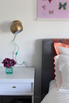 wrap cords in yarn to match room decor