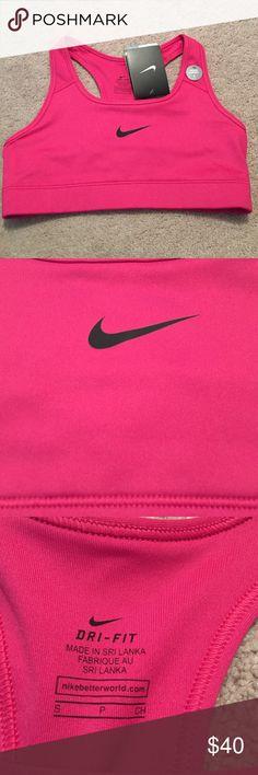 NWT size small Nike pro sports bra New with tags size small Nike pro sports bra. Tag says medium support Nike Intimates & Sleepwear Bras