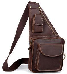 Рюкзак на одно плечо, лошадиная кожа ― Интернет магазин КРУТА ТОРБА в Киеве. Купить кожаные сумки, мессенджеры, клатчи, кошельки, портмоне, чемоданы, трэвел бэг и подарки в Киеве.