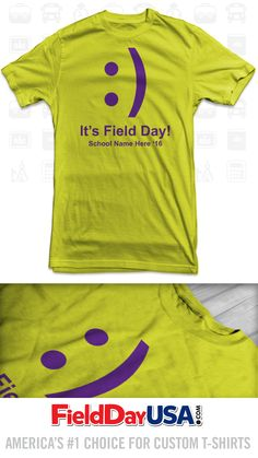 Budget Event Field Day T-Shirt Design BE16-03
