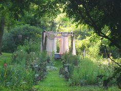 Bathtub in the Garden...oh yeah!!