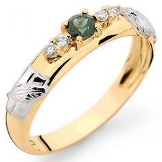 Anéis de formatura em ouro com Pedras Sintéticas