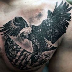 101 Best American Flag Tattoos: Patriotic Designs + Ideas Guide) - 101 Best American Flag Tattoos: Patriotic Designs + Ideas Guide) Cool Eagle US Flag Tattoo Designs – Best American Flag Tattoos: Cool Patriotic US Flag Tattoo Designs and Ideas For Men Patriotische Tattoos, Tattoos Arm Mann, Bild Tattoos, Sleeve Tattoos, Tatoos, Drake Tattoos, Eagle Back Tattoo, Eagle Chest Tattoo, Bald Eagle Tattoos