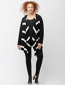 Striped hooded overpiece $59.95 22/24 or 18/20