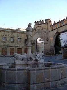 Jaén Baeza Fuente de los Leones