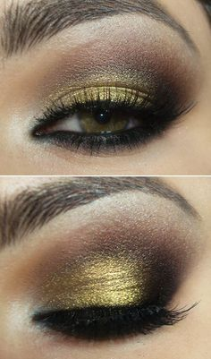 gold/brown tutorial.  Not in English, but....you get the idea