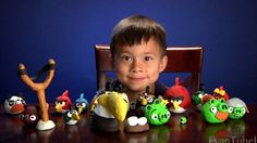 Angry Birds crafts for the holidays