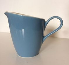 Vintage-Blue-Creamer-Pitcher-Mid-Century-Modern-MCM-Atomic-Age-3-Available