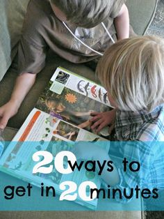 Love this list of reading ideas. It will make getting in 20 minutes of reading so much easier. - Helping kids fit reading in this summer will keep them in the groove of learning! Reading Resources, Reading Strategies, Reading Activities, Reading Skills, Literacy Activities, Reading Tips, Guided Reading, Early Reading, Kids Reading