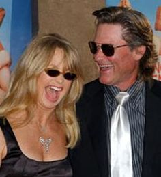 Still in love after all these years, Goldie Hawn and Kurt Russell