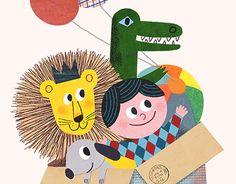 Painting For Kids, Art For Kids, Minimalist Kids, Animal Decor, New Work, Illustrator, Cute Animals, Draw, Cartoon