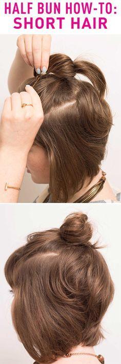 half-bun-hun-hair-tutorial-hacks-how-to-short-hair