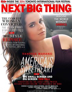 Vanessa Marano looks lovely on the November 2014 cover of Canada's Next Big Thing magazine. The actress chatted with . Vanessa Marano, Read Magazines, Switched At Birth, 21 Years Old, Old Actress, International Film Festival, Film Director, True Colors, Big Thing