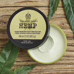 Buy Hemp Foot Protector from The Body Shop: Soothe your feet with our heavy-duty Hemp Foot Cream, helping you soften rough skin down to your toes. Helping to restore moisture levels while hydrating ultra-dry skin, this cream is a beauty essential. The Body Shop, Body Shop At Home, Best Body Shop Products, Body Shop Skincare, Cracked Skin, Coconut Oil For Skin, Foot Cream, Prevent Wrinkles, Natural Sugar