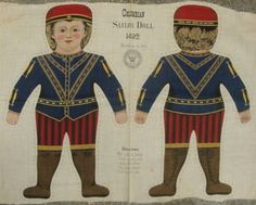 cloth doll panel