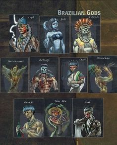 Deuses Indígenas do Brasil » Perdido em Pensamentos