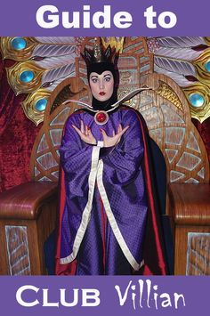 Complete Guide to Club Villain at Disney's Hollywood Studios #disneycharacters #disneyworldplanning