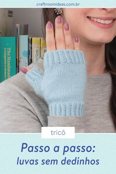 Knitted Gloves, Fingerless Gloves, Arm Warmers, Mittens, Lana, Logo Design, Graphic Design, Knitting Patterns, Sweaters