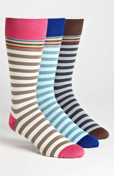 Paul Smith Accessories Print Socks (3-Pack) | Nordstrom
