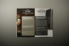 Very simple yet beautiful design by Matrix for Regular Events 2010/11 by Atelier Martinoña , via Behance