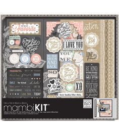 Me & My Big Ideas Lacey Charm Boxed Album Kit