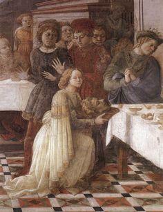 Fra Filippo Lippi - Herod's Banquet (detail)