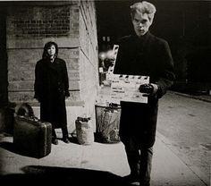 (Stranger than paradise, 1984.En rodaje:Jim Jarmusch y Eszter Balint