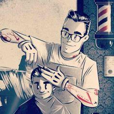 barbershop art
