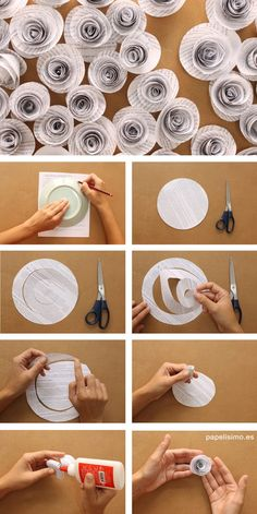 How to make newsprint newspaper flowers How to . - How to make newsprint newspaper flowers How to make newsprint newspaper flower - Paper Flowers Wedding, Paper Flowers Diy, Flower Crafts, Diy Paper, Fabric Flowers, Paper Art, Newspaper Flowers, Newspaper Crafts, Book Crafts