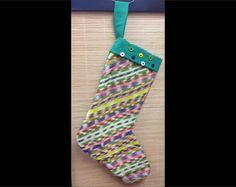Guatemalan Fabric Christmas Stocking Item G5 by CCIWorld on Etsy, $15.00  #Guatemala #orphans #internationaladoption #christmas