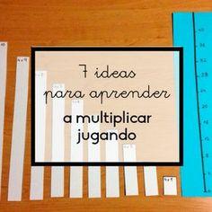 Descubre 7 ideas fantásticas para que los niños de primaria puedan aprender a multiplicar jugando y pasándolo bien con sus amigos.