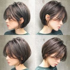 Hairstyles & arrangements for long hair and short hair look fashionable - New Hair Styles hair styles Hairstyles & arrangements for long hair and short hair look fashionable Medium Hair Styles, Curly Hair Styles, Pixie Styles, Hair Medium, Shot Hair Styles, Short Bob Hairstyles, Popular Hairstyles, Hairstyle Short Hair, School Hairstyles