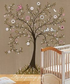spring ita way and been thinking about tree murals wall painting kids bedroom wallpaper mural ideas Style Deco, Kids Decor, Home Decor, Little Girl Rooms, Home And Deco, Tree Wall, Girl Nursery, Nursery Ideas, Girls Bedroom