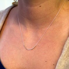 Morse Code Sister Necklace. Love it.