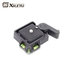 XILETU QR-40 Aluminium Alloy  Clamp Adapter Transfer board Clamping platform Universal Buckle Quick Mounting Plate
