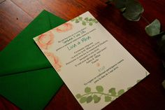 invitatii nunta trandafiri papergoodsart.ro