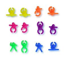 Culina Wine Glass Markers Silicone 12 pcs Colorful Set of Rubber Characters ** Check out the image by visiting the link.
