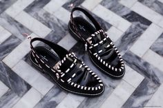 Louis Vuitton Slingback Loafers | More on viennawedekind.com #louisvuitton