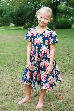 Little League Dress Pattern, basic and cute