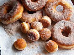 Comfy Cuisine: Easy Biscuit Dough Doughnuts