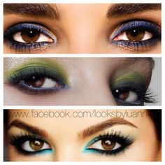 How to accentuate BROWN EYES!