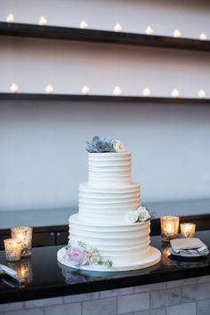 This #cake is beyond beautiful! {Ben Elsass Photography}