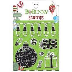 Clear Stamp - Bo Bunny / Mistletoe