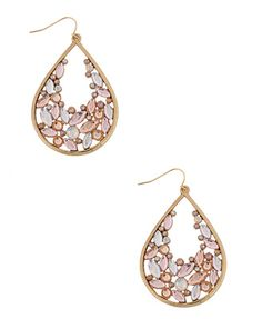 Beaded Teardrop Earrings | FOREVER21 - 1002929754