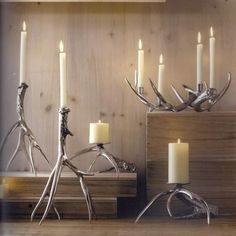 Make Mom the light of your life this Mother's Day with some rustic #decor. #mothersday #candles