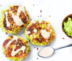 Tuna and Avocado Cakes