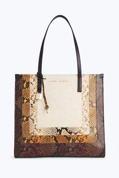 Mark Jacobs Snake Grind Shopper Tote Bag