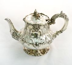 vintage teapots with stand | 05068a-Antique-Sterling-Silver-Teapot-London-1841-2