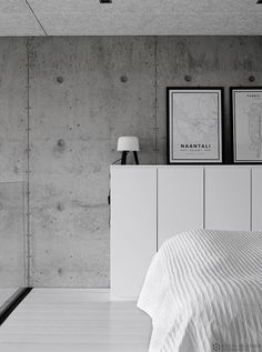 betonitalo-photo-krista-keltanen-10 Interior And Exterior, Interior Design, Modern Rustic, Beautiful Homes, Villa, Contemporary, Bedroom, Architecture, House